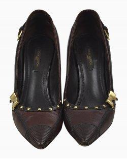 Sapato Louis Vuitton Tachinhas Marrom