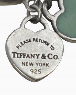 Anel Tiffany & Co Berloque De Coração