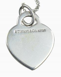 Colar Tiffany & Co Pendente de Coração