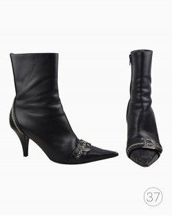 Bota Christian Dior Preta