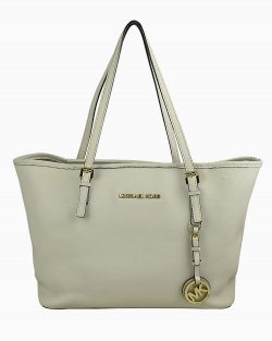 Bolsa Michael Kors Jet Set Off White