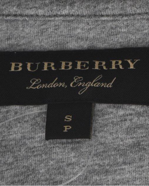 Camiseta Burberry Cinza