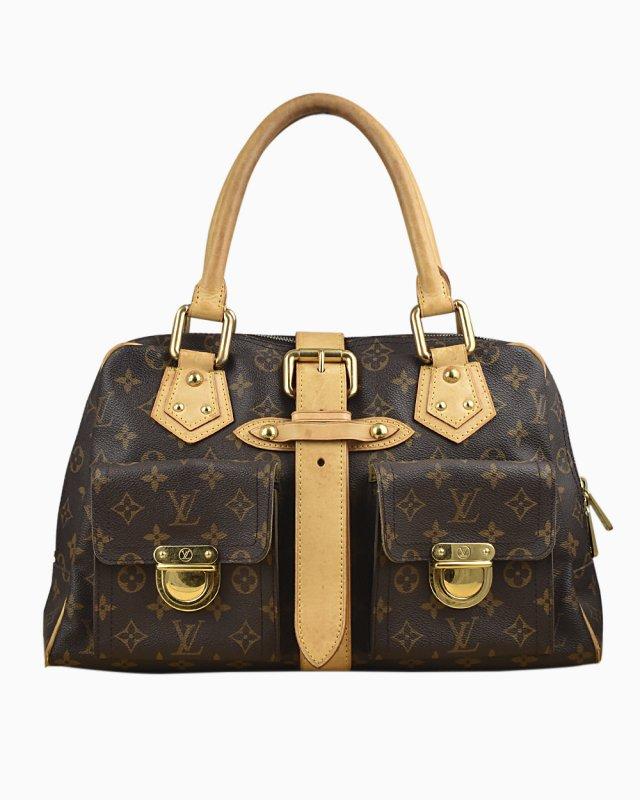 Bolsa Louis Vuitton Manhattan MM Monograma