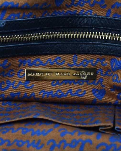 Bolsa Marc Jacobs De Couro Preto