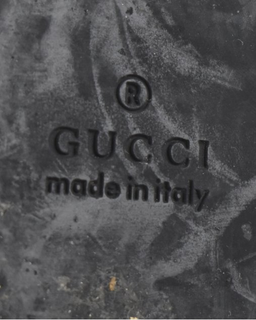 Rasteira Gucci GG Marrom