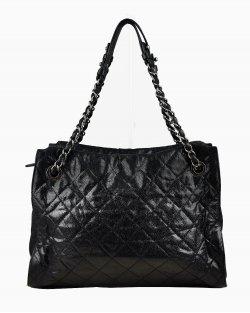 Bolsa Chanel Leather Crave Tote Preto