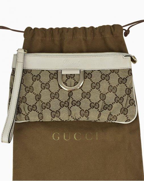 Clutch Gucci GG Monograma