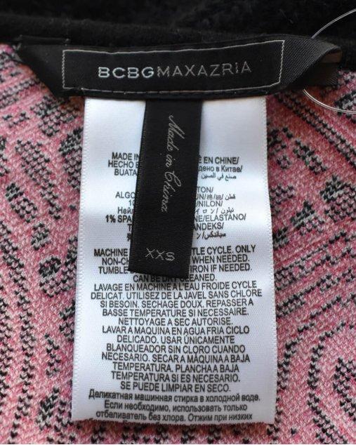 Vestido BCBG Maxzria Estampado