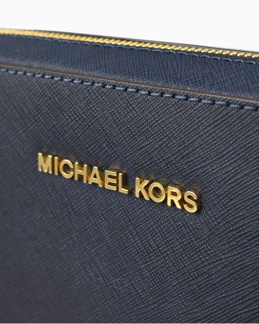 Bolsa Michael Kors Jet Set Azul Marinho