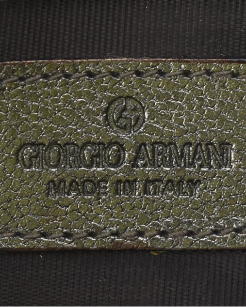 Clutch Giorgio Armani Chumbo