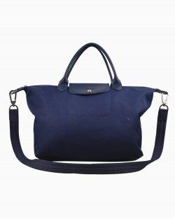 Bolsa Longchamp Le Pliage Neo Small Hydrangea Azul Marinho