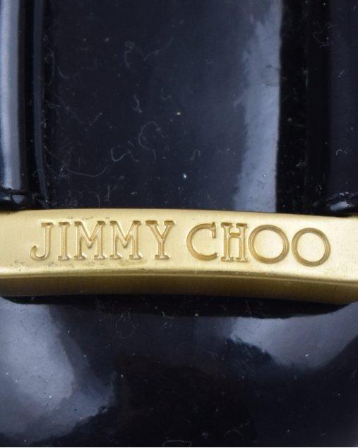 Sapatilha Jimmy Choo Em Verniz Preta