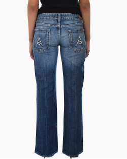 Calça Jeans 7 For All Mankind Azul