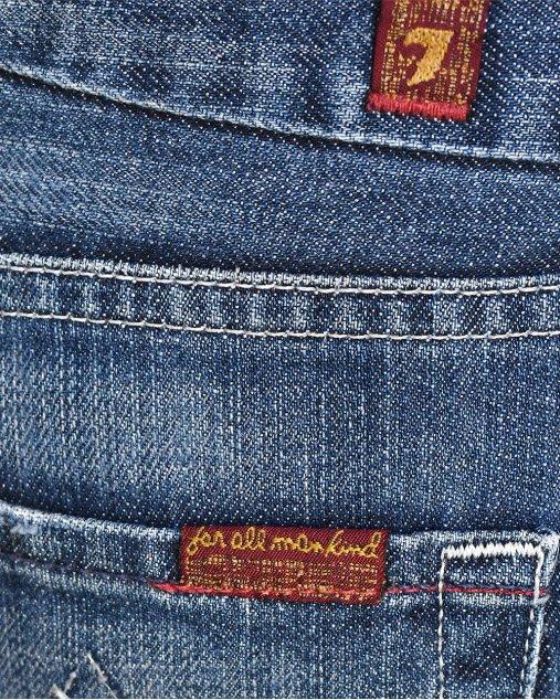 Calça Jeans 7 For All Mankind Azul