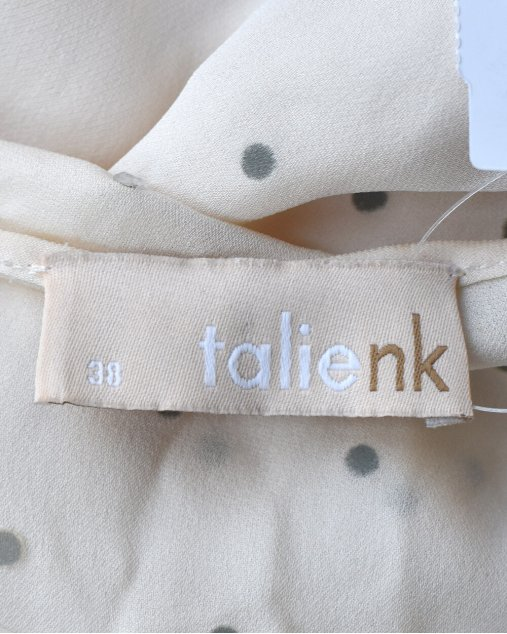Vestido De Seda Talie NK Off White