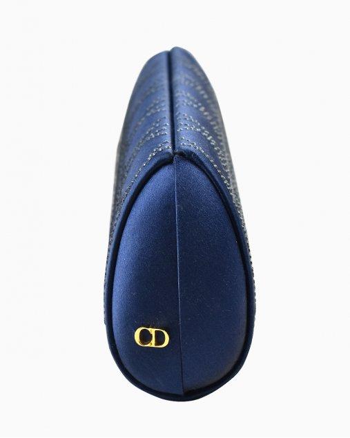 Clutch Christian Dior Azul