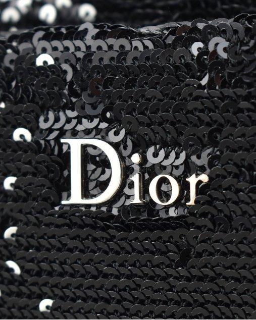 Clutch Christian Dior De Paetê Bicolor