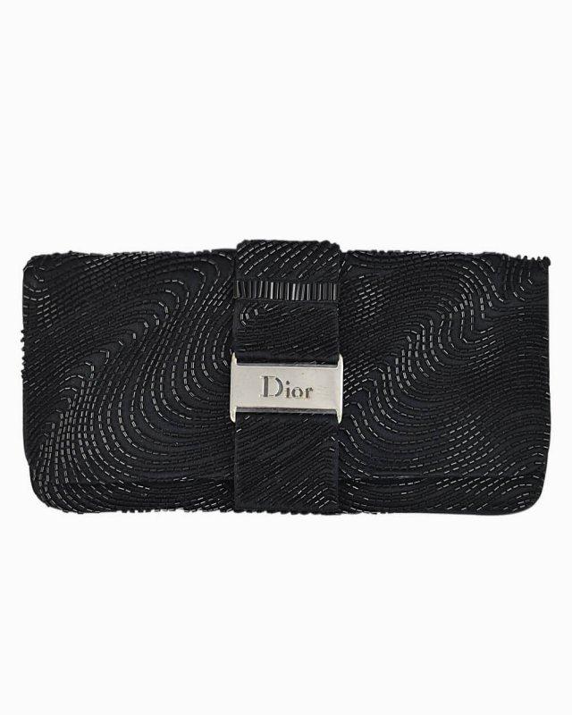 Clutch Christian Dior Preta