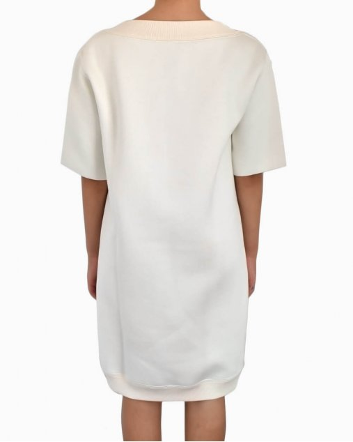 Vestido De Moletom  Louis Vuitton Off White