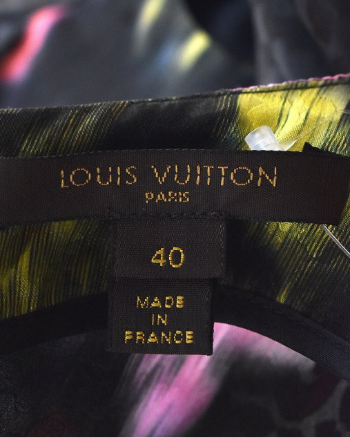 Vestido Louis Vuitton Estampado