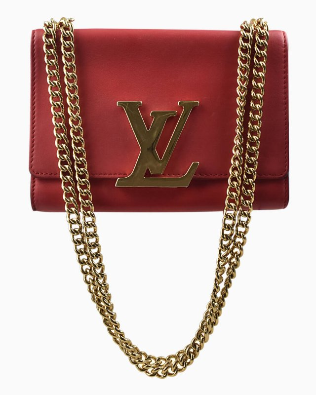 Bolsa Louis Vuitton Louise Vermelha