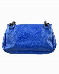 Bolsa Bottega Veneta Krim Crossbody Azul