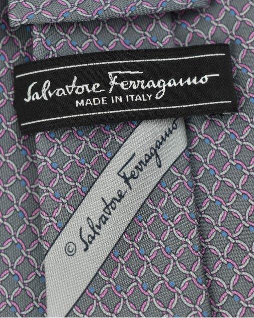 Gravata Salvatore Ferragamo Estampado