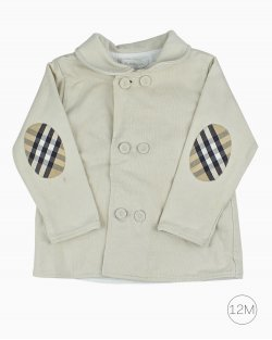 Casaco Infantil Burberry OffWhite