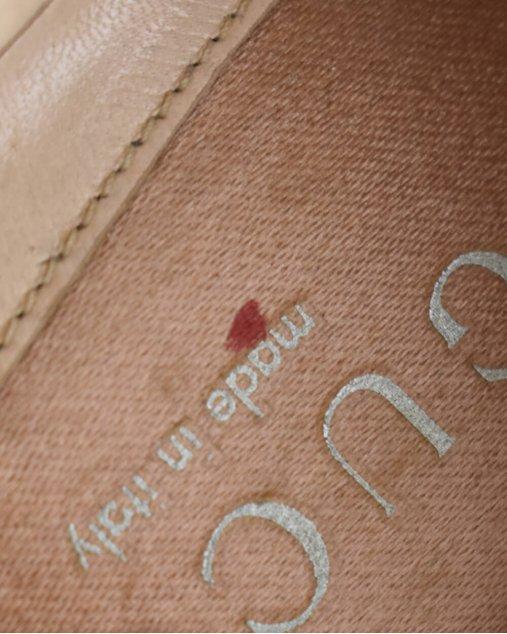 Sapato Gucci Tom Ford Ballet Rosê