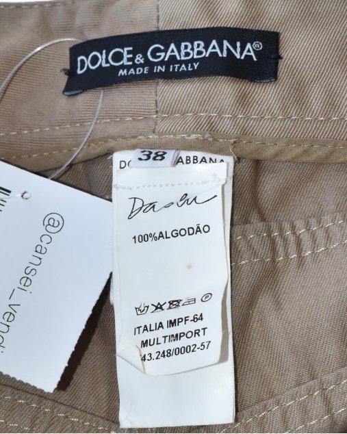 Calça Dolce & Gabbana Caqui