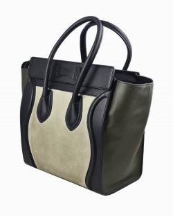 Bolsa Celine Luggage Bicolor