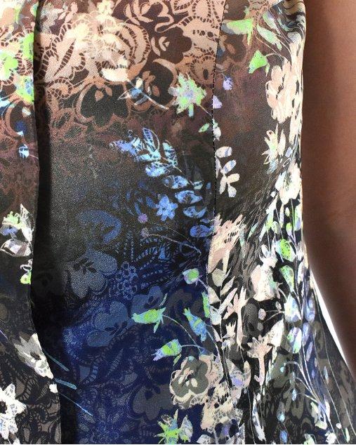 Blusa Tang Emporio Armani Floral
