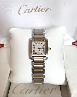 Relógio Cartier Tank Française Pequeno
