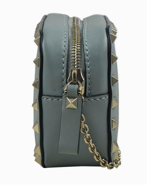 Bolsa Valentino Rockstud Mini Azul