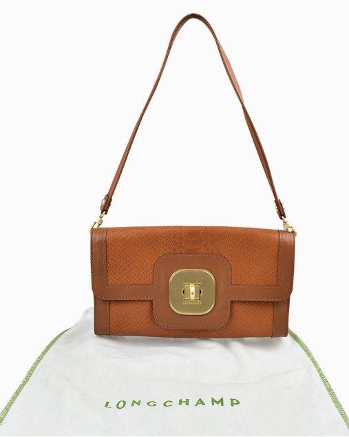Bolsa Longchamp Caramelo