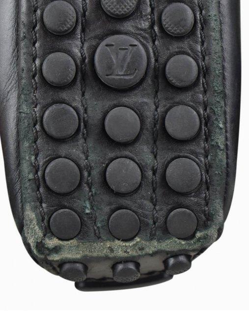 Sapatilha Louis Vuitton Couro Preto