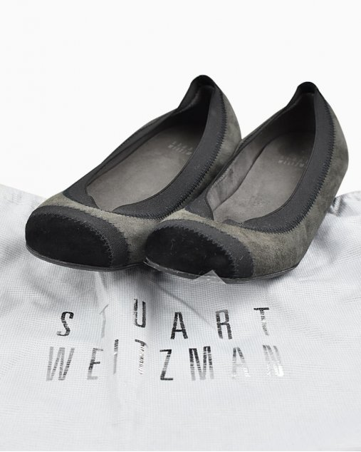 Sapatilha Stuart Weitzman Bicolor
