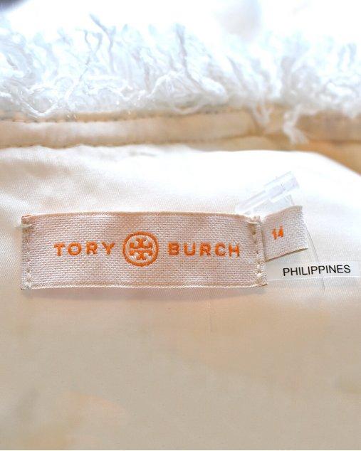 Vestido Tory Burch Tweed Branco