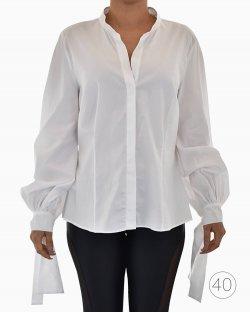 Camisa Carolina Herrera Branca