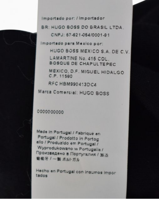 Camiseta Boss Hugo Boss Preta