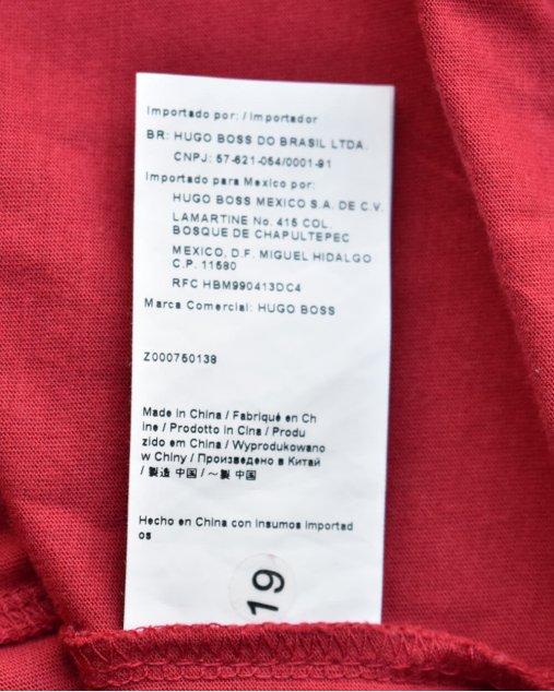Camiseta Boss Hugo Boss Vermelha
