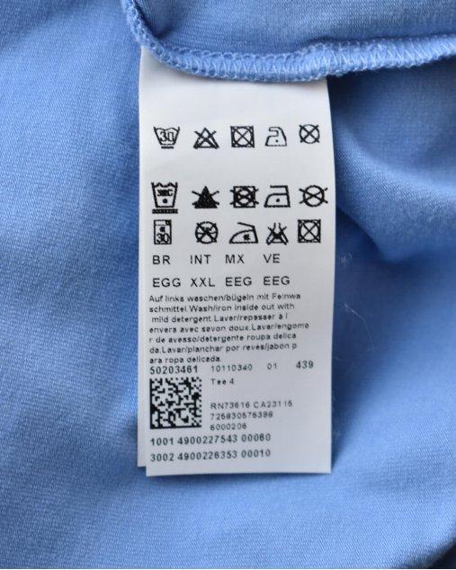 Camiseta Boss Hugo Boss Azul Clara