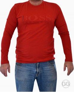 Camisa de Manga Longa Bossa Hugo Boss Vermelha