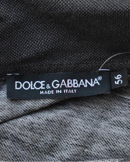 Polo Dolce & Gabbana Cinza