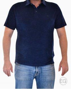 Polo Vilebrequin Azul Marinho