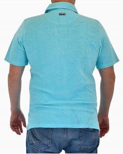 Polo Vilebrequin Azul Turquesa