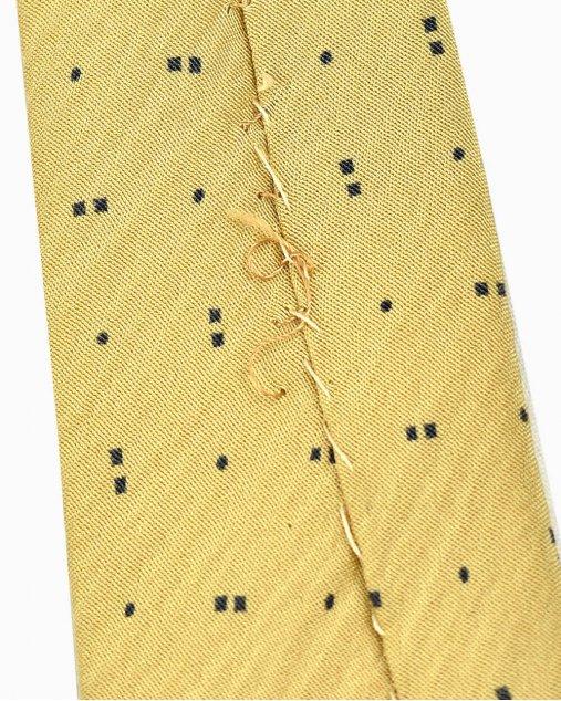 Gravata Armani Collezion Amarela