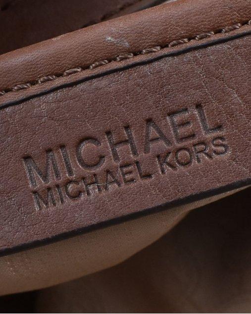 Bolsa Michael Kors Jet Set Monograma Marrom
