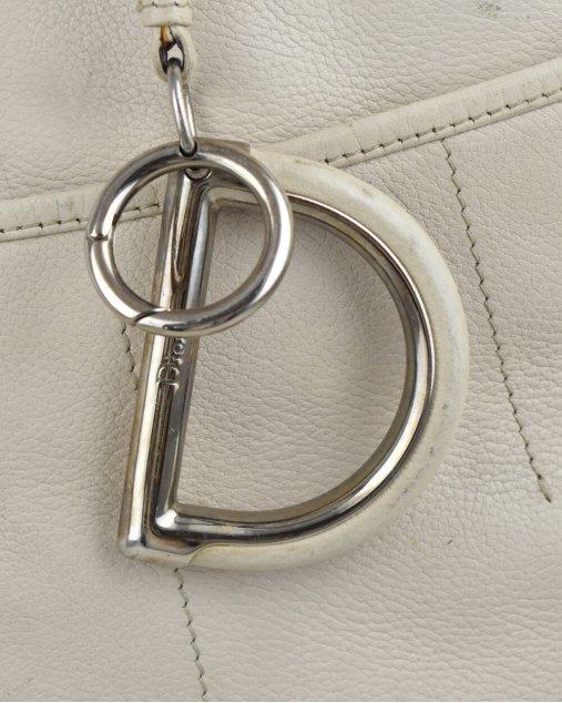 Bolsa Christian Dior 61 Tote OffWhite