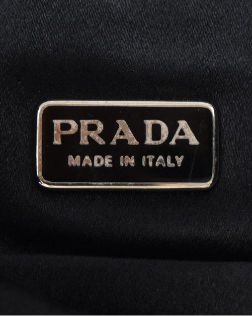Bolsa Prada Crossbody Vintage Preta